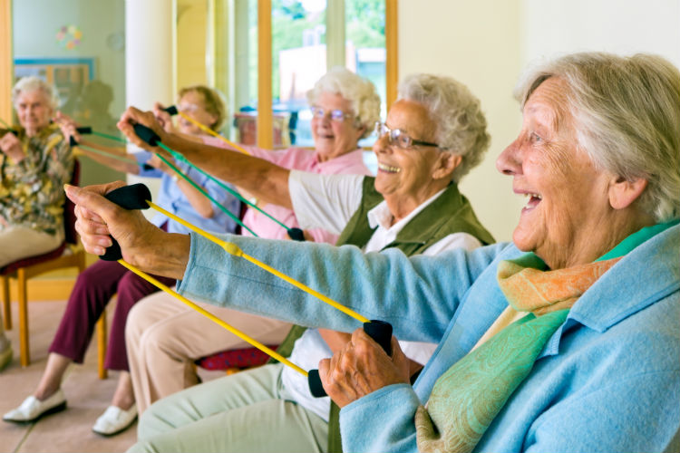Spending the Day at an Adult Day Center-Image