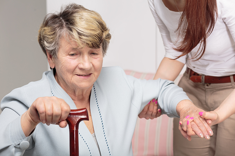 Patient Lifts for Home Use Help Caregivers Transfer Seniors Safely-Image
