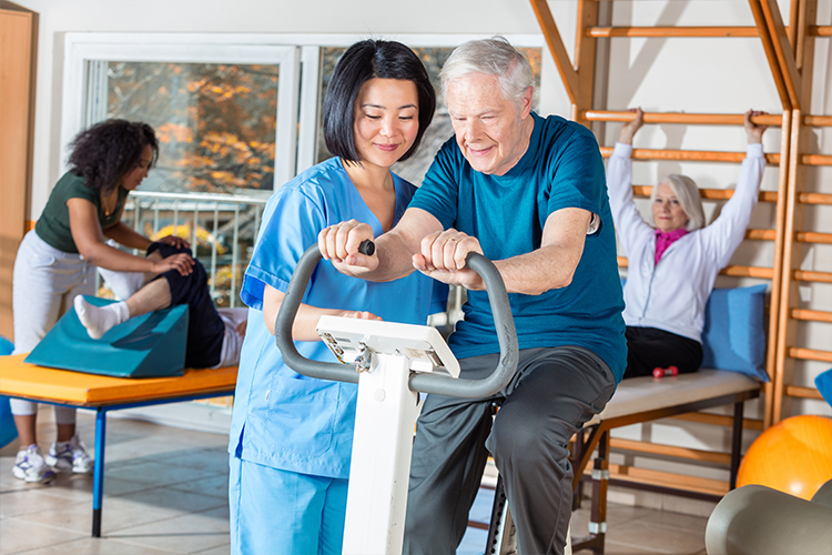 Elderly Rehabilitation: Physical Therapy, Occupational Therapy & Speech Therapy-Image