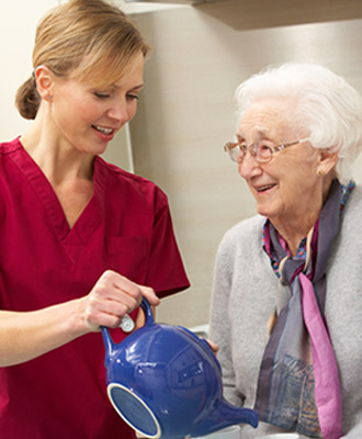 Easily search home care options