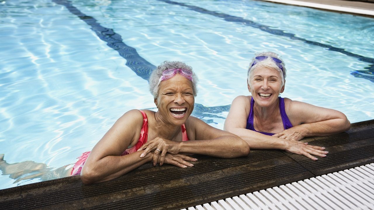 Aquatic Exercise for the Elderly-Image