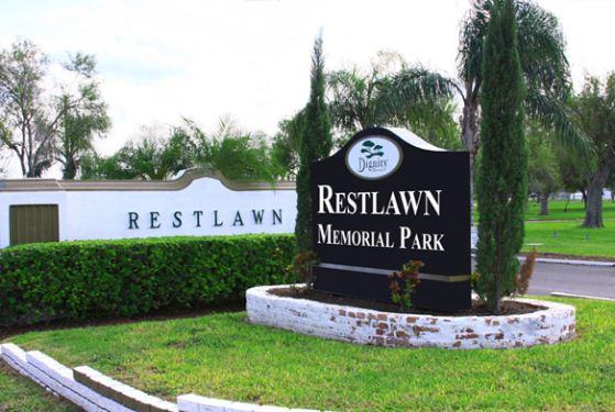 Restlawn Memorial Park at La Feria, TX