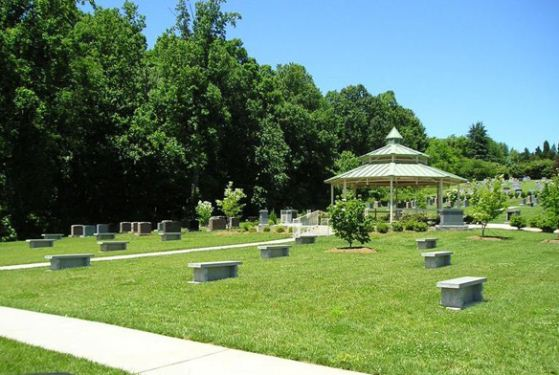Forsyth Memorial Park at Winston Salem, NC