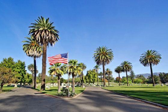 Pierce Brothers Santa Paula Cemetery at Santa Paula, CA