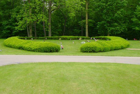 Sunset Memory Garden Cemetery at Kokomo, IN