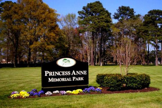 Princess Anne Memorial Park at Virginia Beach, VA