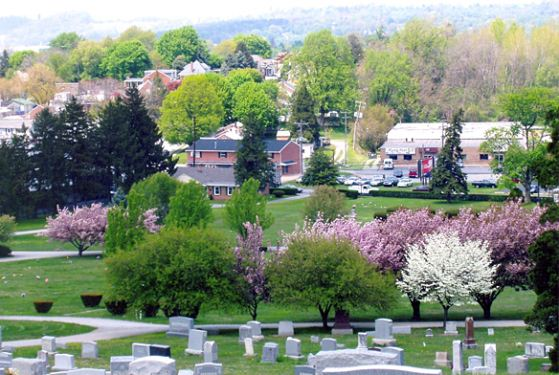 Mount Rose Cemetery at York, PA