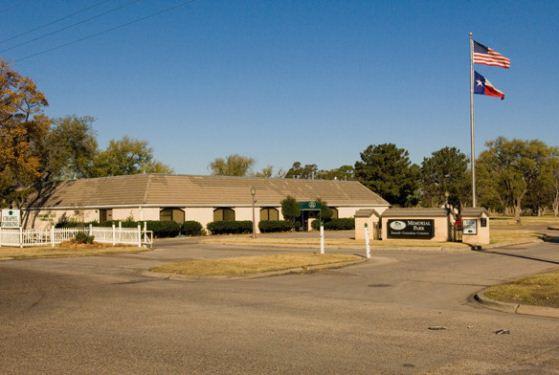 Memorial Park Cemetery at Amarillo, TX