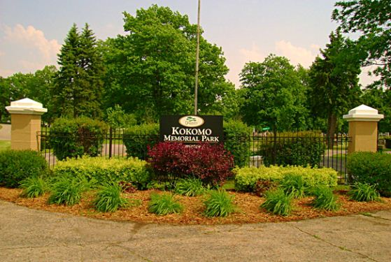 Kokomo Memorial Park at Kokomo, IN