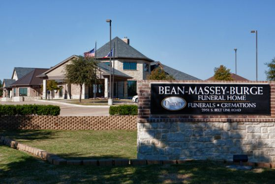 Bean-Massey-Burge Funeral Home Beltline Road at Grand Prairie, TX