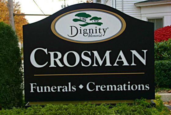 Crosman Funeral Home at Lisbon Falls, ME