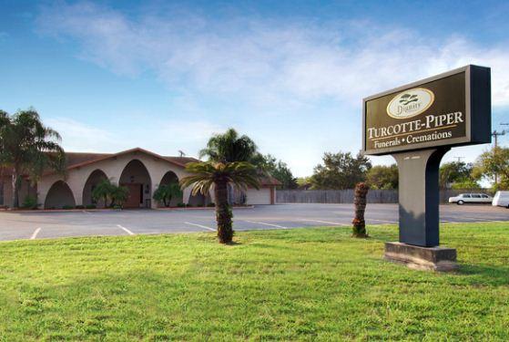 Turcotte-Piper Mortuary at Kingsville, TX