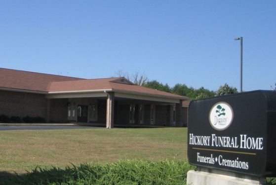 Hickory Funeral Home at Hickory, NC