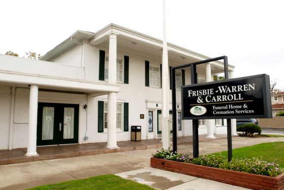 Frisbie Warren & Carroll Mortuary at Stockton, CA
