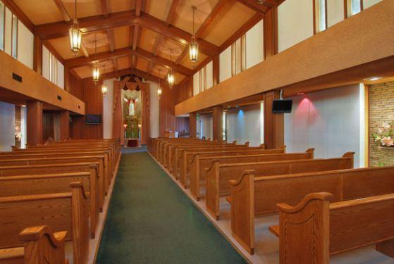 Lima Family Erickson Memorial Chapel at San Jose, CA
