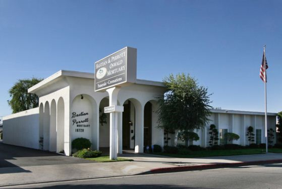 Bastian and Perrott, Oswald Mortuary at Northridge, CA