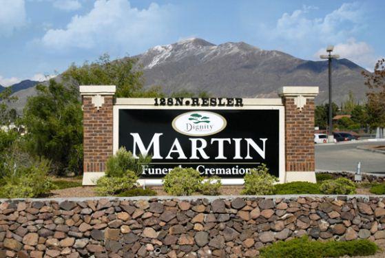 Martin Funeral Home at El Paso, TX