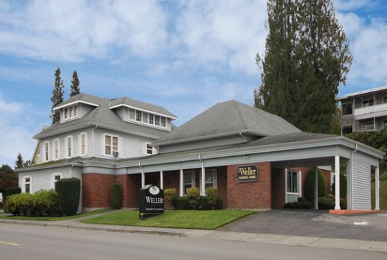 Weller Funeral Home at Arlington, WA