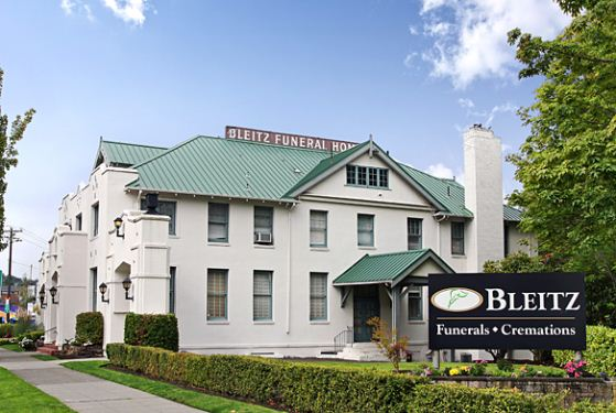 Bleitz Funeral Home at Seattle, WA