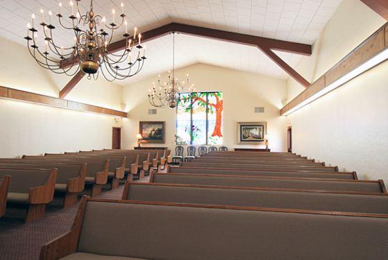 Miller Memorial Chapel at Visalia, CA