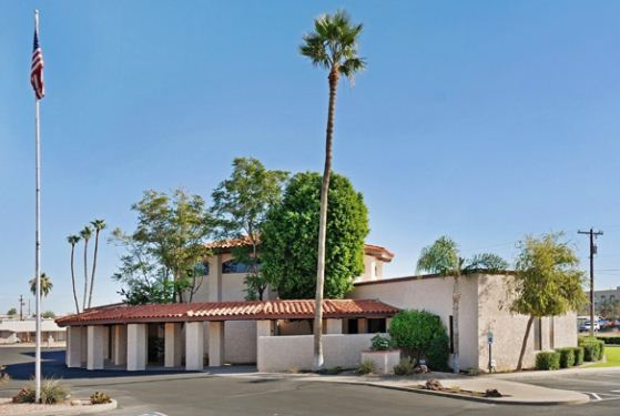 Melcher Mortuary Mission Chapel & Crematory at Mesa, AZ