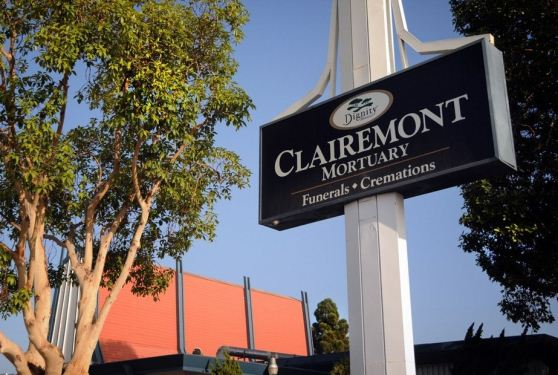 Clairemont Mortuary at San Diego, CA