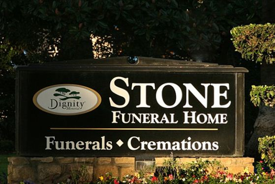 Stone Funeral Home at Upland, CA