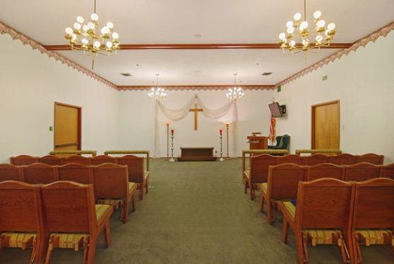 Redwood Chapel at Redwood City, CA