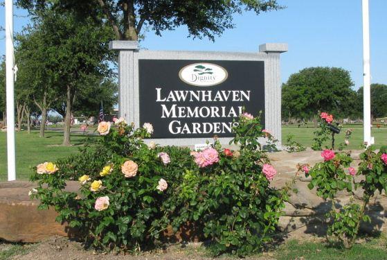 JOHNSON'S LAWNHAVEN MEMORIAL GARDENS at San Angelo, TX