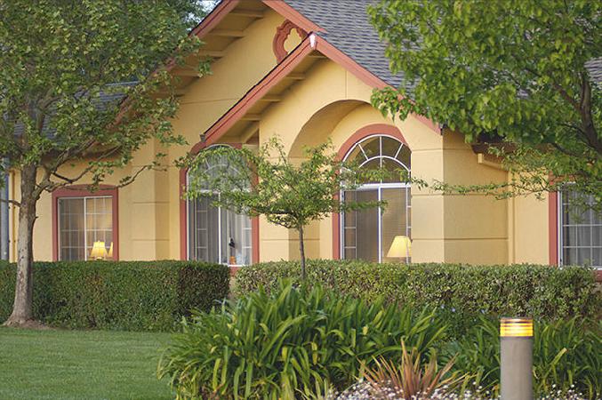 Adobe House at Petaluma, CA