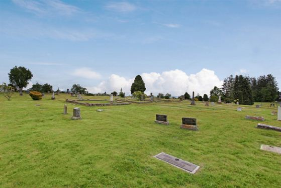Dungeness Cemetery at Sequim, WA