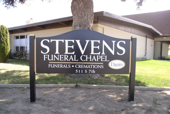 Stevens Funeral Chapel at Othello, WA