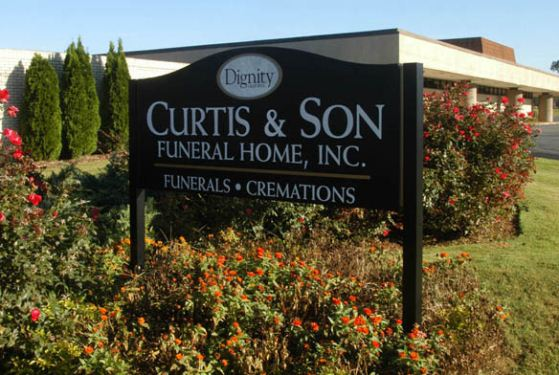 Curtis and Son Funeral Home at Sylacauga, AL