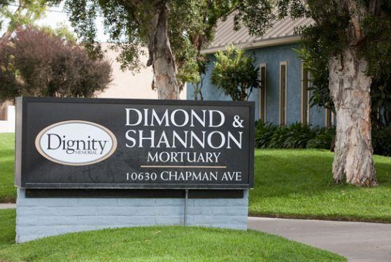 Dimond & Shannon Mortuary at Garden Grove, CA