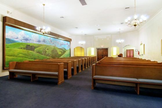 San Leandro Funeral Home at San Leandro, CA