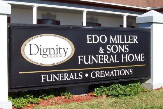 Edo Miller and Sons Funeral Home at Brunswick, GA