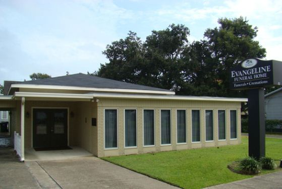 Evangeline Funeral Home at St Martinville, LA