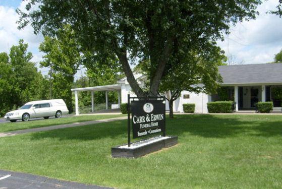 Carr & Erwin Funeral Home at Pulaski, TN
