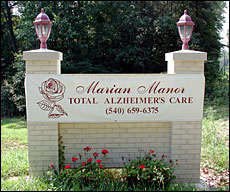 Marian Manor of Stafford, Inc. at Stafford, VA