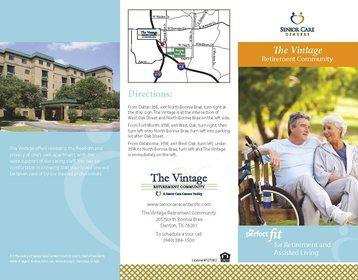 The Vintage Retirement Community at Denton, TX